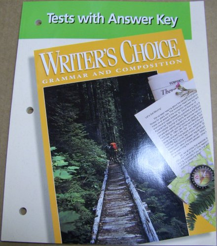 9780026350228: Writer's Choice Grammar and Composition (Tests and Answer Key) Grade 10 (Writer Choice)