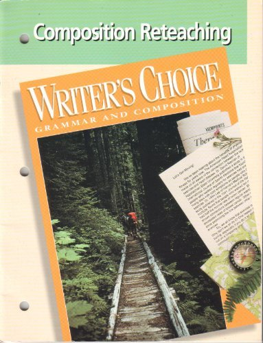 9780026350235: Writers Choice Composition Reteaching