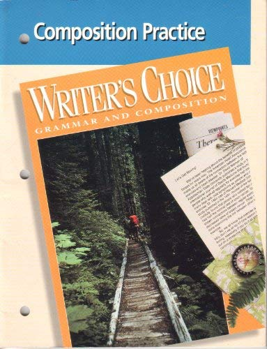 9780026350242: Writers Choice Composition Practice