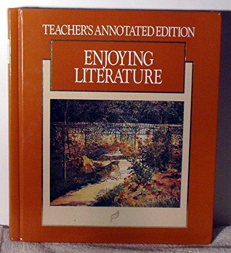 9780026350525: Enjoying Literature Grade 8 - Teachers Annotated Edition (MacMillan Literature Series)