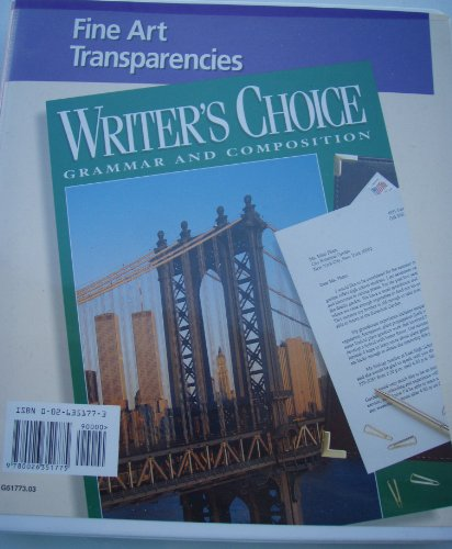 9780026350686: Glencoe Fine Art Transparencies Writer's Choice Grade 10