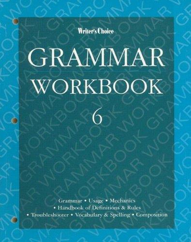 Grammar Workbook 6 (9780026351454) by [???]