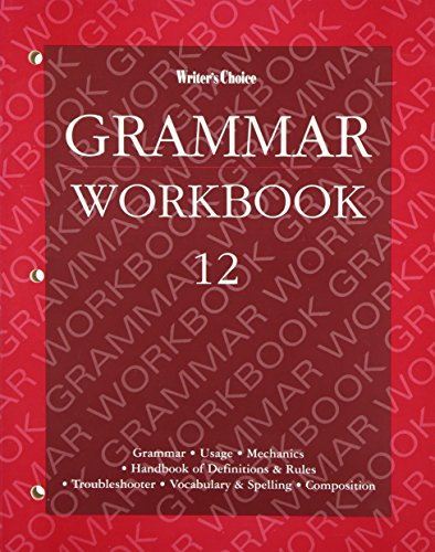 Writers Choice: Grammar Workbook 12 (0026351587) by Royster