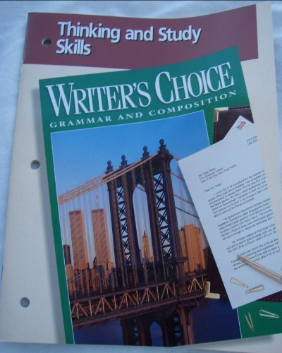 9780026351713: Writer's Choice Grammar and Composition (Thinking and Study Skills)