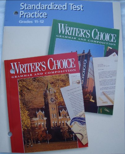 9780026351782: Writer's Choice Grammar and Composition (Standardized Test Practice Grade 11-12)