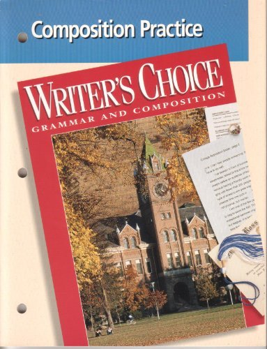 9780026351867: Writer's Choice: Grammar and Composition (Composition Practice)