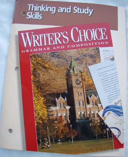 9780026351935: Writer's Choice (Grammar and Composition, Thinking and Study Skills)