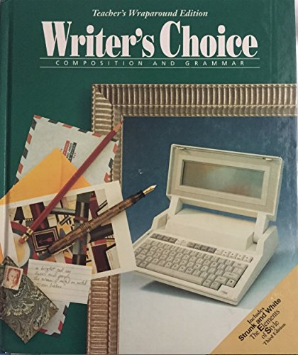 Writers Choice Composition And Grammar Grade 11: Teacher Wraparound Edition (0026352427) by ROYSTER