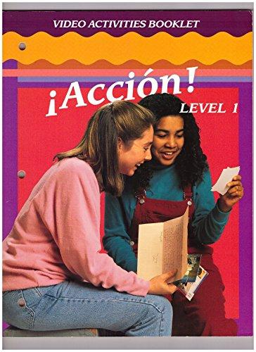 9780026353120: Accion: Video Activities Workbook level 1