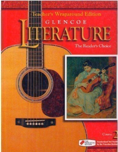 9780026353793: Glencoe Literature The Readers Choice, Course 2, Grade 7: Teacher Wraparound Edition