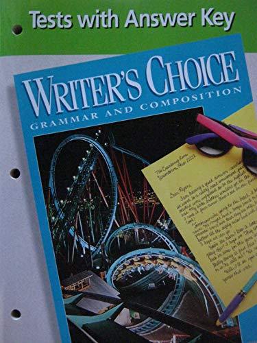 Writer's Choice - Grammar and Compostion -: N/A, N/A