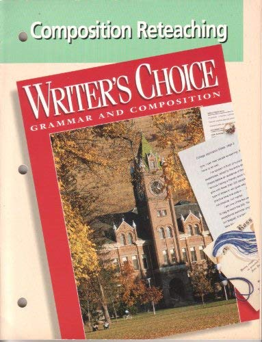 9780026355032: Writers Choice Composition Reteaching