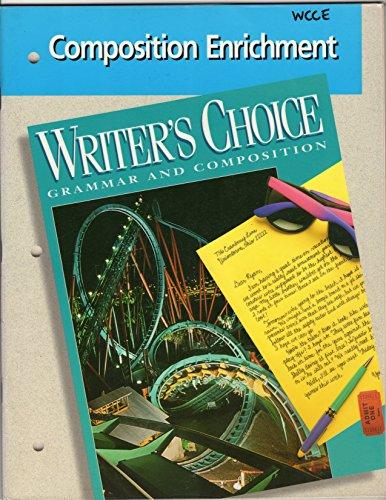 9780026355056: Writers Choice Composition Enrichment