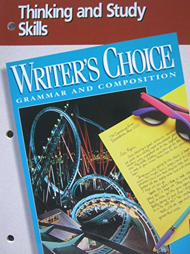 9780026355117: Writer's Choice Grammar and Composition (Thinking and Study Skills)