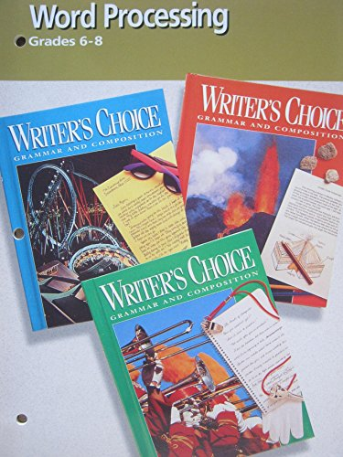 9780026355322: Writers Choice Word Processing