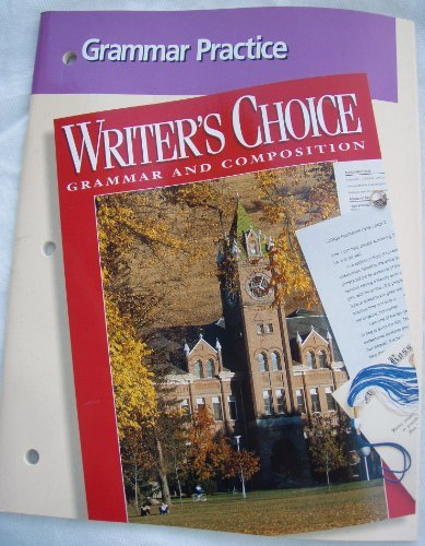 9780026355421: Grammar Practice (Writer's Choice Grammar and Composition)