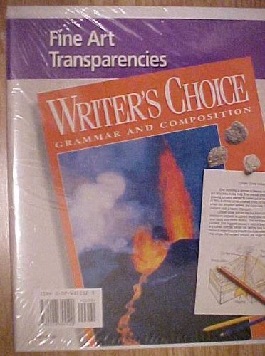 9780026355520: Fine Art Transparencies (Writer's Choice Grammar and Composition)