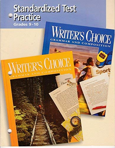 9780026356121: Writer's Choice Standardized Test Practice, Grades 9-12
