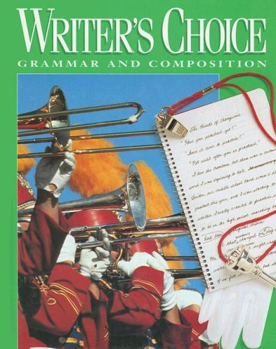 9780026358781: Writer's Choice: Grammar and Composition