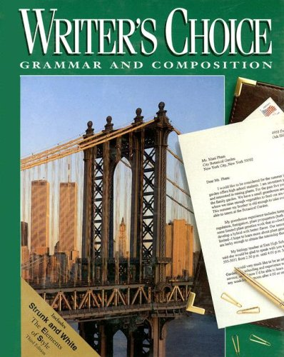 9780026358880: Glencoe Writer's Choice, Grade 11