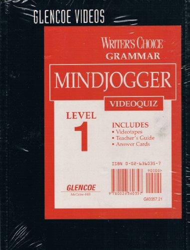 Writer's Choice-Grammar Mindjogger Videoquiz Set, Level 1