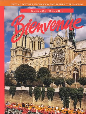 9780026365581: Bienvenue: Glencoe French 1-Wkbk.+Tp.Man