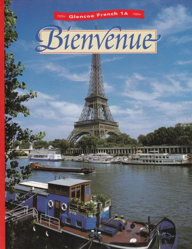 9780026366816: Bienvenue: Glencoe French 1A (French Edition)