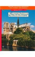 9780026366854: Glencoe French 1 Bienvenue Writing Activities Workbook and Student Tape Manual