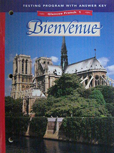 9780026366915: BIENVENUE TESTING PROGRAM GLENCOE FRENCH 1