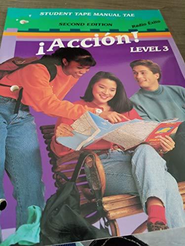 9780026407250: Accion Level 3 - Student Tape Manual - Radio Exito
