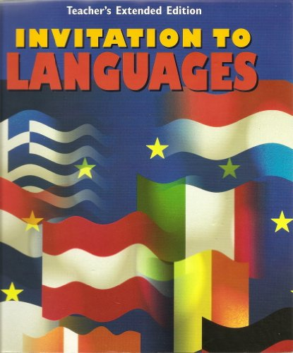 9780026408691: Invitation to Languages: Foreign Language Exploratory Program