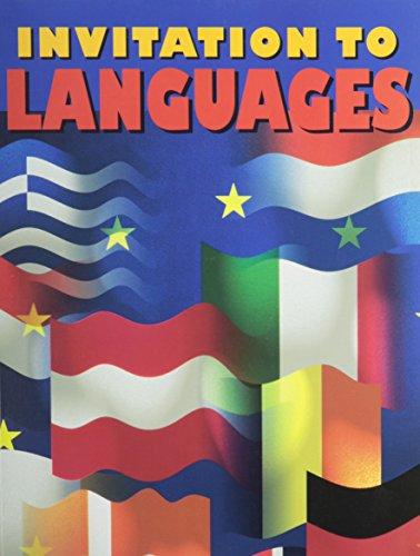 9780026408820: Invitation to Languages: Foreign Language Exploratory Program