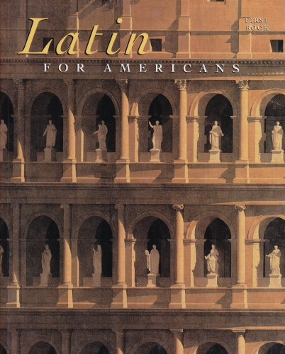 Latin for Americans: First Book: B. L. Ullman,
