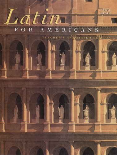 Latin for Americans, Book 1, 8th Teacher's: B. L. Ullman,