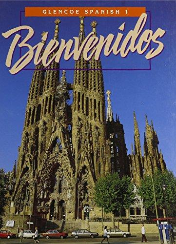 Glencoe Spanish 1997 - Level 1, Bienvenidos - Student Edition (Hardback): Schmitt