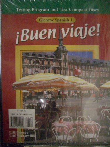 9780026412223: �Buen Viaje! : Glencoe Spanish 1 Testing Program and Test Compact Discs