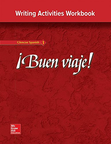 9780026412612: ¡Buen viaje!: Level 1, Writing Activities Workbook