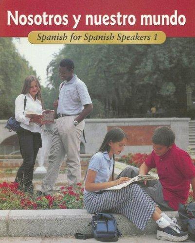 9780026412902: ¡Buen viaje! Level 1 Nosotros y nuestro mundo (Spanish Edition)