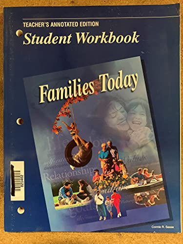 9780026429306: Families Today: Student Workbook, Teacher's Annotated Edition