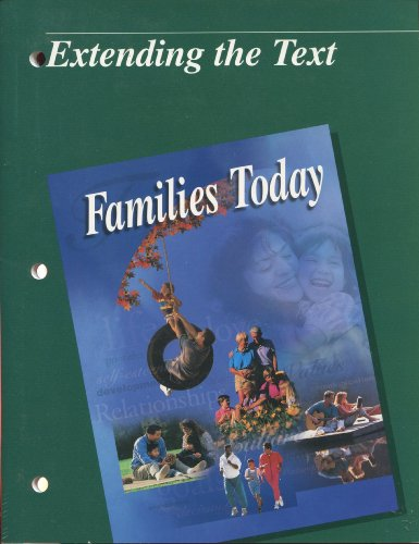 9780026429399: Families Today Extending the Text (Families Today Textbook)