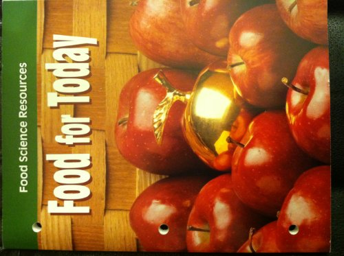 9780026429894: Food Science Resources (Food for Today)