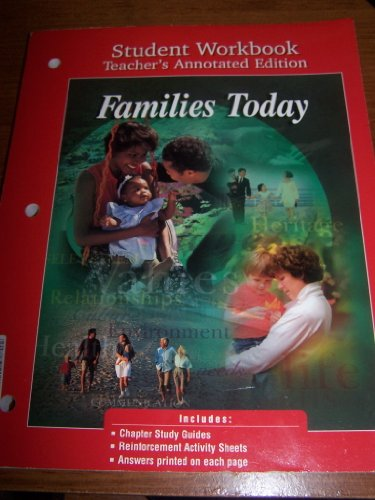 9780026432825: Families Today: Student Workbook; Teacher's Annotated Edition