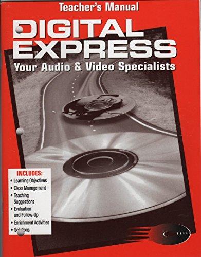 9780026439794: Teacher's Manual (Digital Express An Accounting Simulation)
