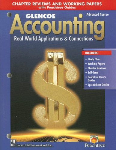 9780026439886: Glencoe Accounting: Advanced Course, Working Papers