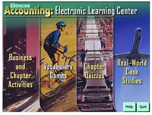 9780026440165: Glencoe Accounting: Electronic Learning Center Teacher's Software/ Multimedia Package