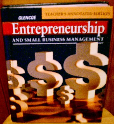 9780026440691: Entrepreneurship and Small Business Management, Teacher's Annotated Edition