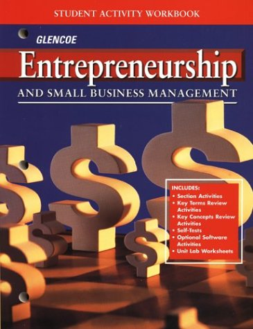 9780026440707: Entrepreneurship and Small Business Management: Student Activity Workbook