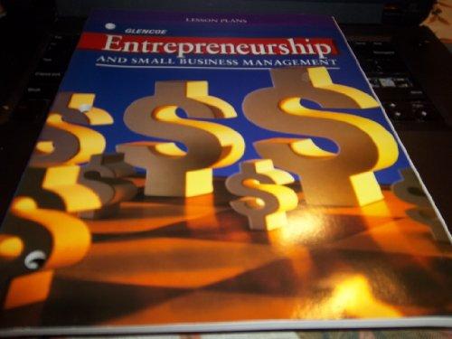 9780026440738: Entrepreneurship and Small Business Management (Lesson Plans)
