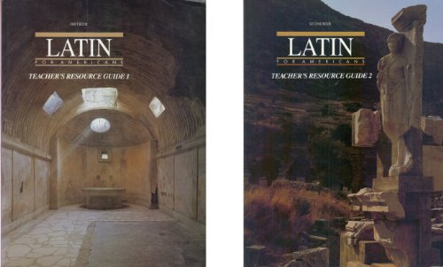 9780026460019: Latin for Americans: Teacher's Resource Guide, Volumes 1 & 2