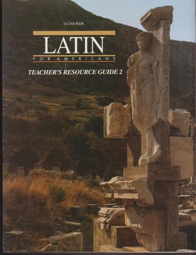 Latin For Americans, WORKBOOK 2, Second Book (TEACHERS RESOURCE GUIDE 2)